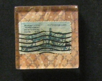 Hand Made Minnesota Territory Magnet