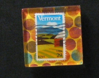 Hand Made Vermont Magnet