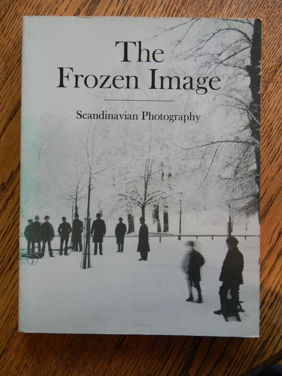 The Frozen Image: Scandinavian Photography, Over Sized Book, Abbeville, 1982