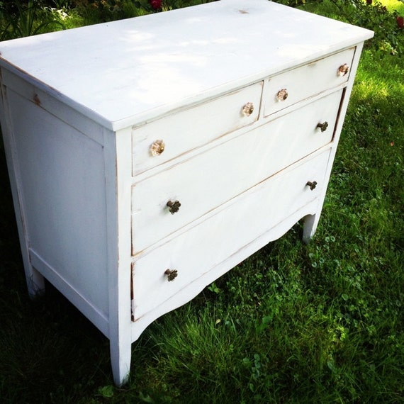 Up-cycled Shabby Chic Dresser