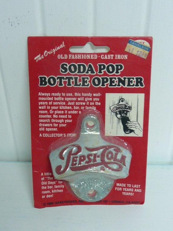vintage nos pepsi cola starr x soda pop bottle opener cast. Black Bedroom Furniture Sets. Home Design Ideas