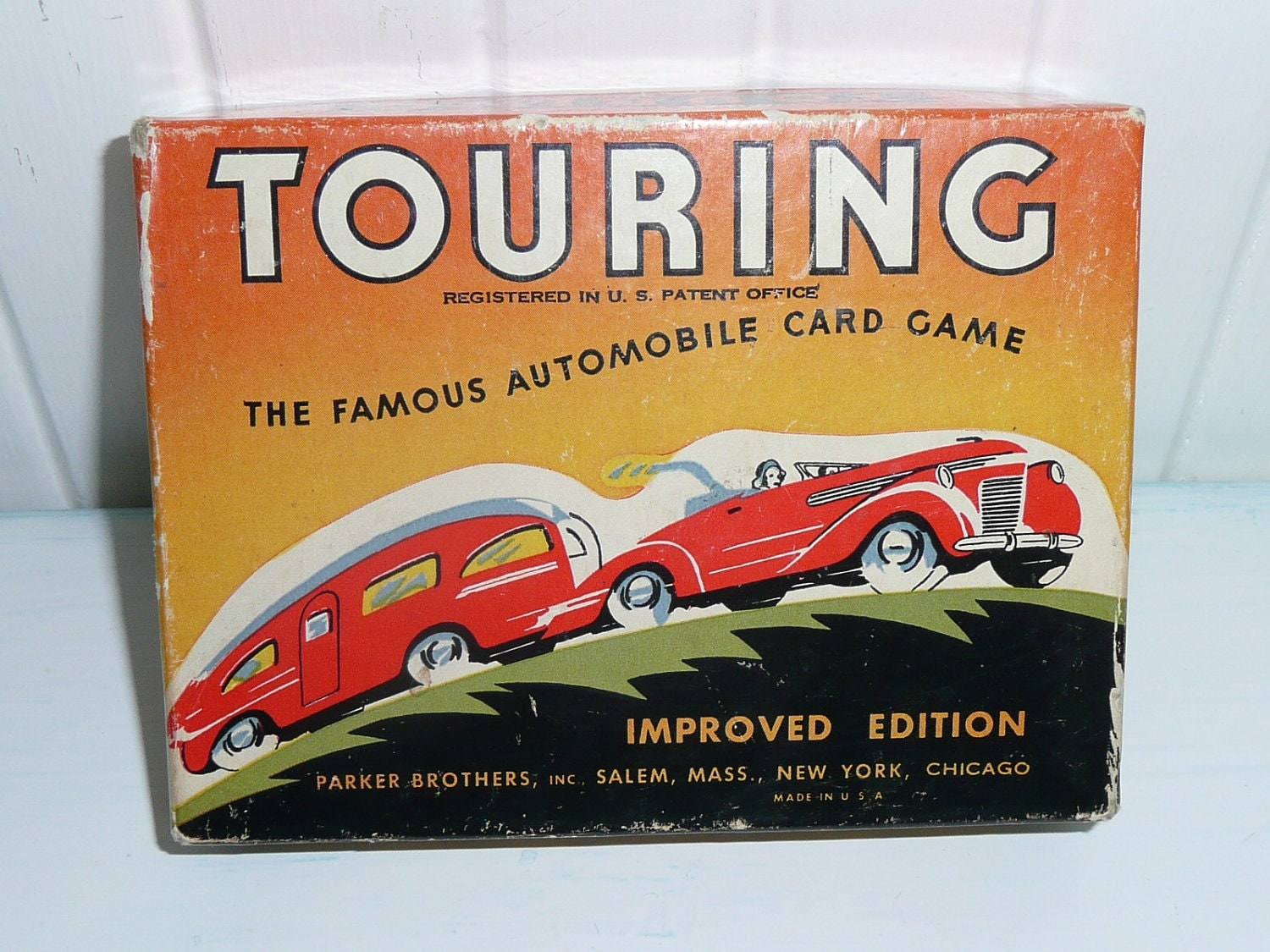 Parker Brothers Touring Card Game Instructions