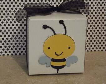 Bumble Bee Party Favor Box (Set of 8)