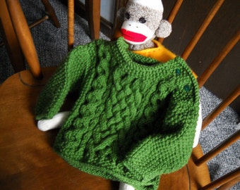 Irish Baby Sweater