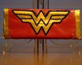 Duct Tape Wonder Woman Wallet