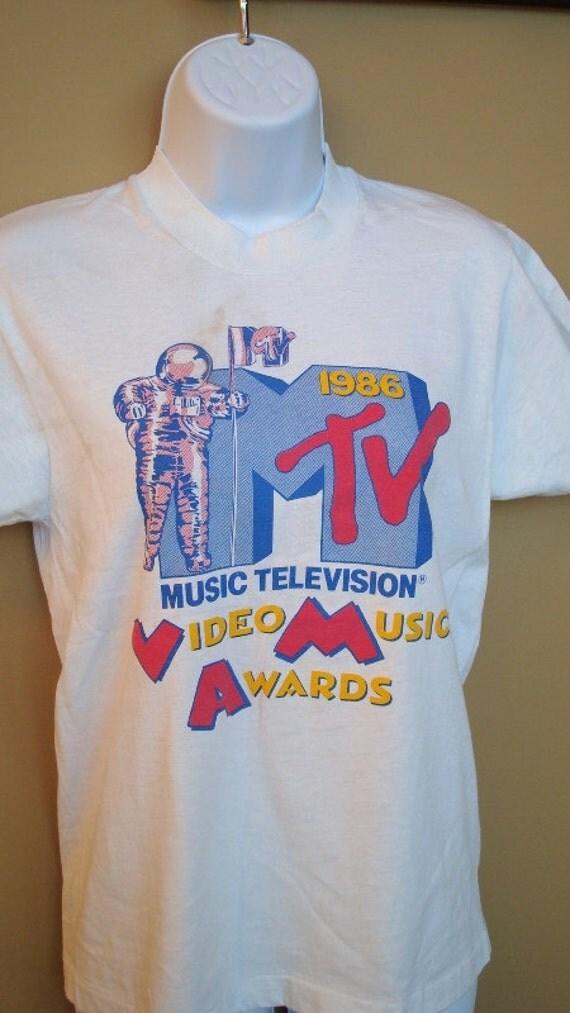 80s Vintage MTV 1986 Video Music Awards (now on sale)