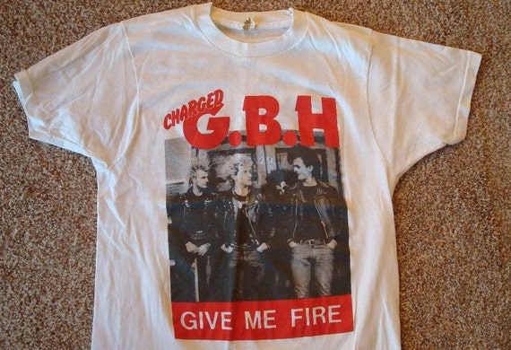 80s Vintage   G.B.H.   give me fire