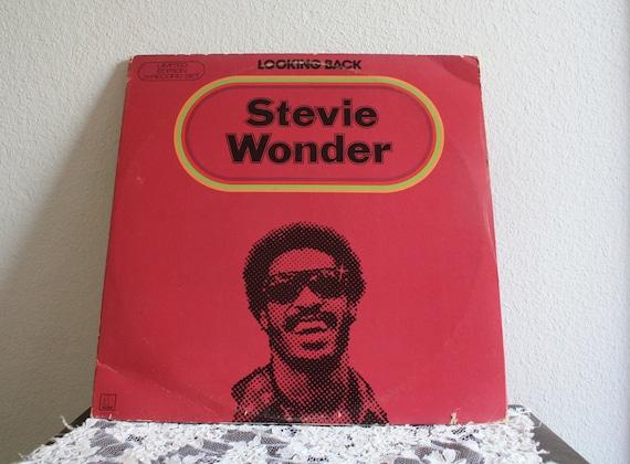 Stevie Wonder Looking Back LP