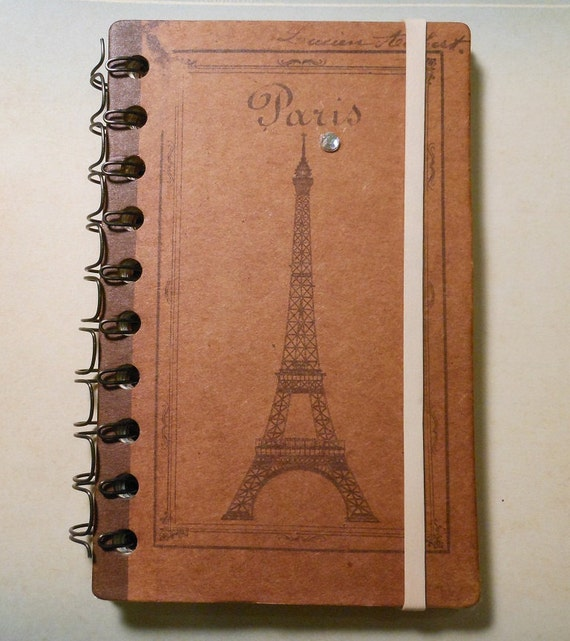 62 Page Small Paris Scrapbook Premade Pages For Planning or Journaling (Like A Smash Book)