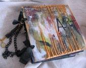 Art Journal, Scrapbook Album, Painted