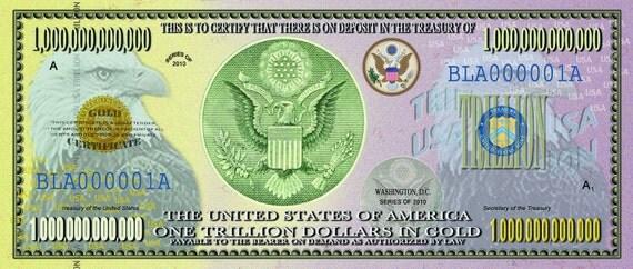 One Trillion US Dollars