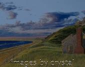 Cape Cod Bay Sunset Truro Sunsetting Summers Eve Fine Art Photography