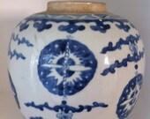 Classic Blue China Vase