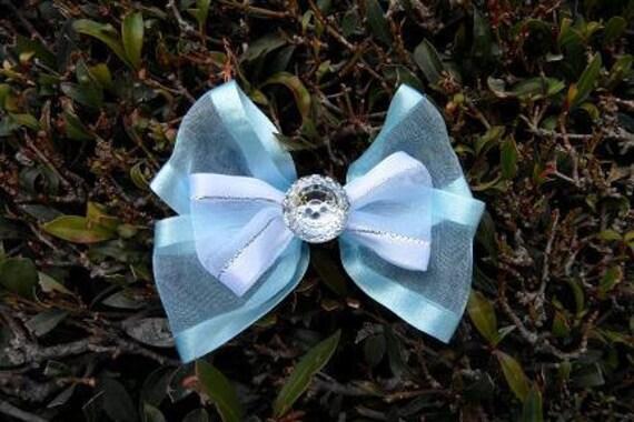 Princess Cinderella Hair Bow Clip