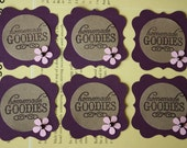 Homemade Goodies Tag or Embellishment - Set of 6