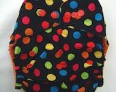 Modern cloth nappy / diaper - pocket style - Polkadots