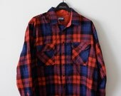 Fieldmaster Flannel Shirt - Tall XL - Men's Winter Fashion - Back to School