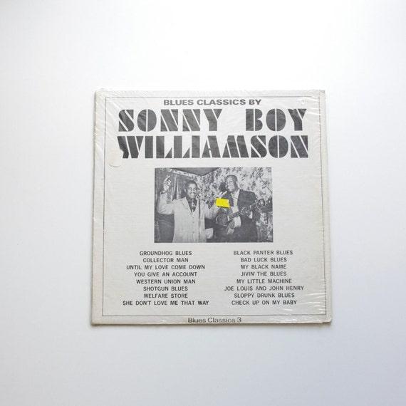 Sonny Boy Williamson - Blues Classics Vinyl Record - 1960's