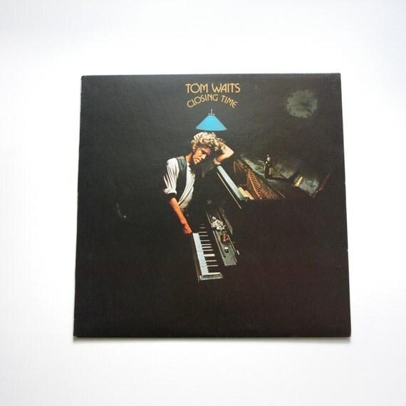 Tom Waits - Closing Time - Rare 1st Pressing - Asylum SD5061 - 1973