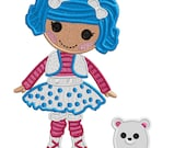Made to match Mlttens and her Bear - Applique or Embroidery FILE only