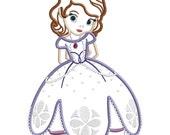 Princess Sophie - Applique  FILE ONLY