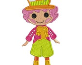 Mad Hatter - Applique or Embroidery file FILE ONLY