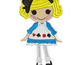 Alice - Applique or Embroidery file FILE ONLY