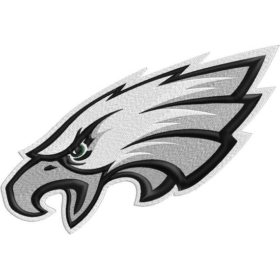 Eagles Head Embroidery 4x4, 5x7 & 6x9 -  Embroidery FILES only