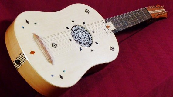 Vihuela or early guitar by Clive Titmuss
