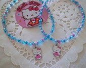 Hello Kitty (Pink)  Pendant Necklace