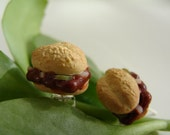McDonalds McRib Earrings-