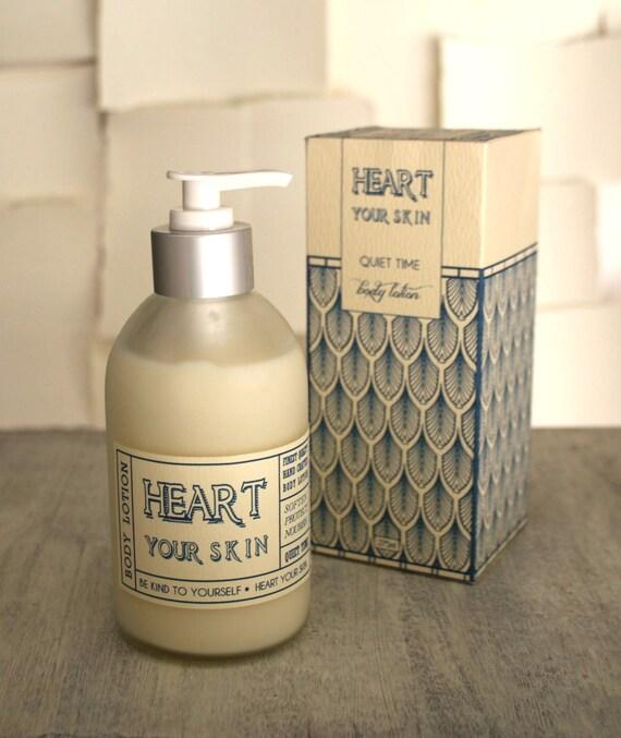 Vanilla Honey Lotion Natural Moisturizer Skincare Navy Cream Art Deco Frosted Glass Nautical