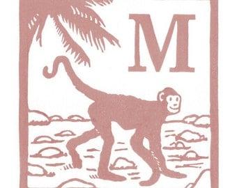 M - Monkey
