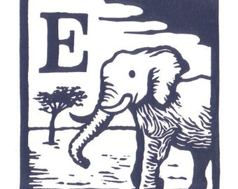 E - Elephant
