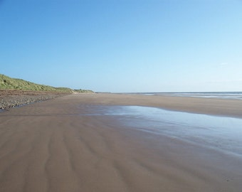 Cresswell Beach, Northumberland - Photograph