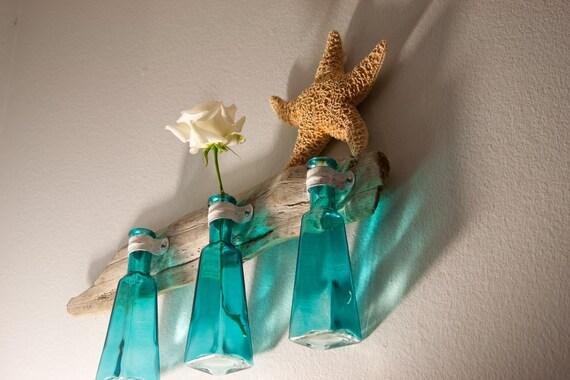 Driftwood Vase Trio