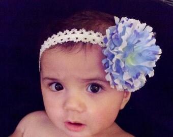 Flash SALE...Baby Headband - Flower Headband - Newborn Baby headband - Infant Headband - Photography Prop