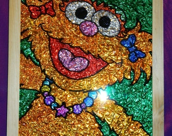 Zoey from Sesame Street Foil Picture