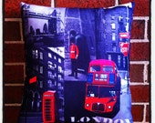 London Icons Cushion Cover (no insert)