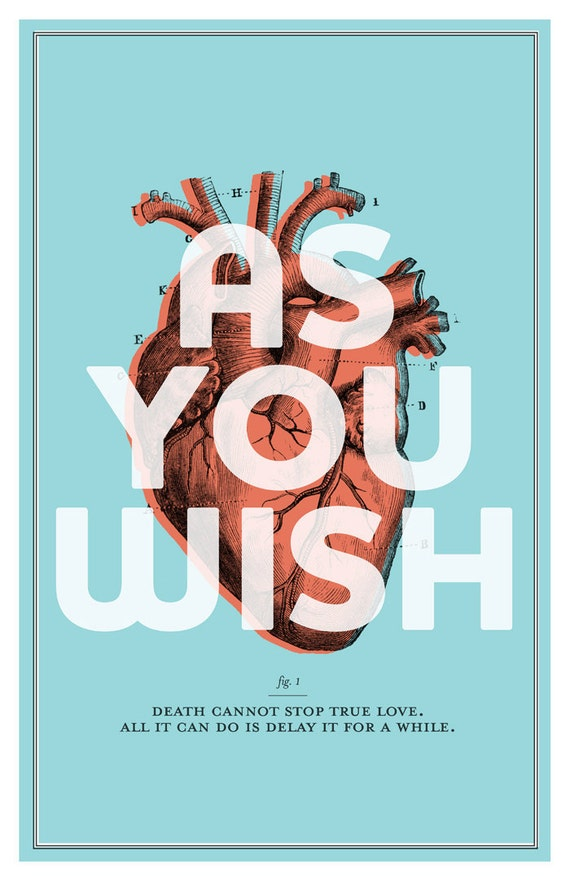 The Princess Bride - As You Wish Poster