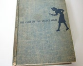 Vintage 1950s Book - Nancy Drew - The Clue of the Velvet Mask