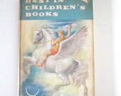 "Vintage 1950s Illustrated Book ""Best in Children's Books"" 1959 Volume 21"