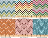 Changing Pad Cover - Chevron - Zig Zag Multi Color (Custom: Choose your Fabric)