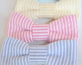 Seersucker Bowties - Choose from 4 colors