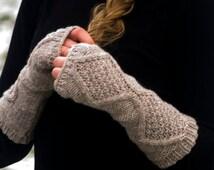 Fingerless gloves, Hand warmers,  Handwarmers, Arm warmers, pure wool luxury yarn
