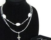 Pearled Cross