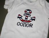Anchor Onesie or T-shirt