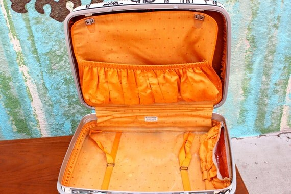 Vintage Samsonite Fashionaire Suitcase