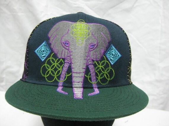 SIZE 7 1/4 NEW Anna Taylor/GRC Dark Elephant Hat
