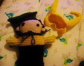 RESERVED - Loki Knitted Plush - Avengers